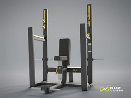 EVOST II Pystypunnerruspenkki - Olympic seated bench | DHZ Fitness