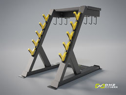 EVOST II Handle rack | DHZ Fitness