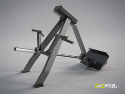 EVOST II Incline level row (T-kulmasoutu) | DHZ Fitness