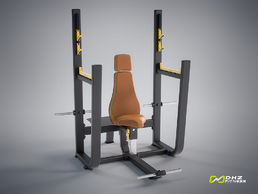 EVOST I - Pystypunnerruspenkki (Olympic Seated Bench) | DHZ Fitness