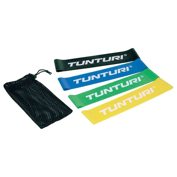 Mini Resistance Band Set 4 kpl | Tunturi