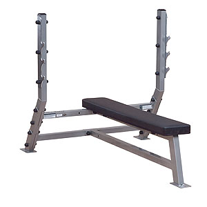 Flat Olympic Bench - Punnerruspenkki | Body-Solid