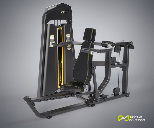 EVOST DUAL FUNTION - Rinta- / Hartiapunnerruslaite (Chest / Incline Press / Shoulder Press) | DHZ Fitness