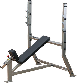 Incline Olympic Bench - Vinopenkki | Body-Solid